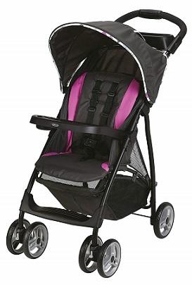 Graco LiteRider LX Lightweight Stroller -lightweight stroller with trays