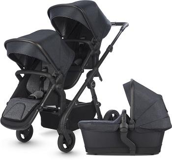 best luxury double strollers - silver cross coast double stroller